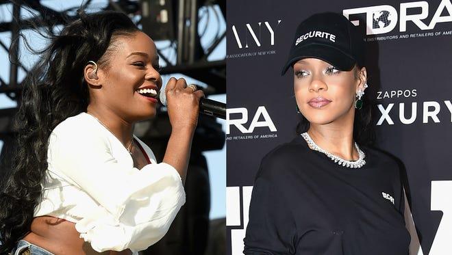 Azealia Banks; Rihanna