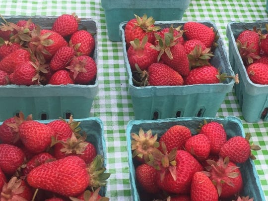 Fresh fruit is the centerpiece of strawberry sauce,