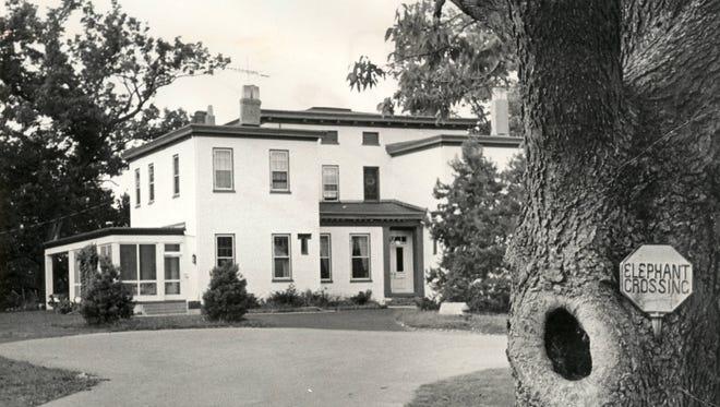 John Robinson, owner of Robinson's Circus, lived in a mansion in Terrace Park and used the grounds as winter quarters for the circus and menagerie.