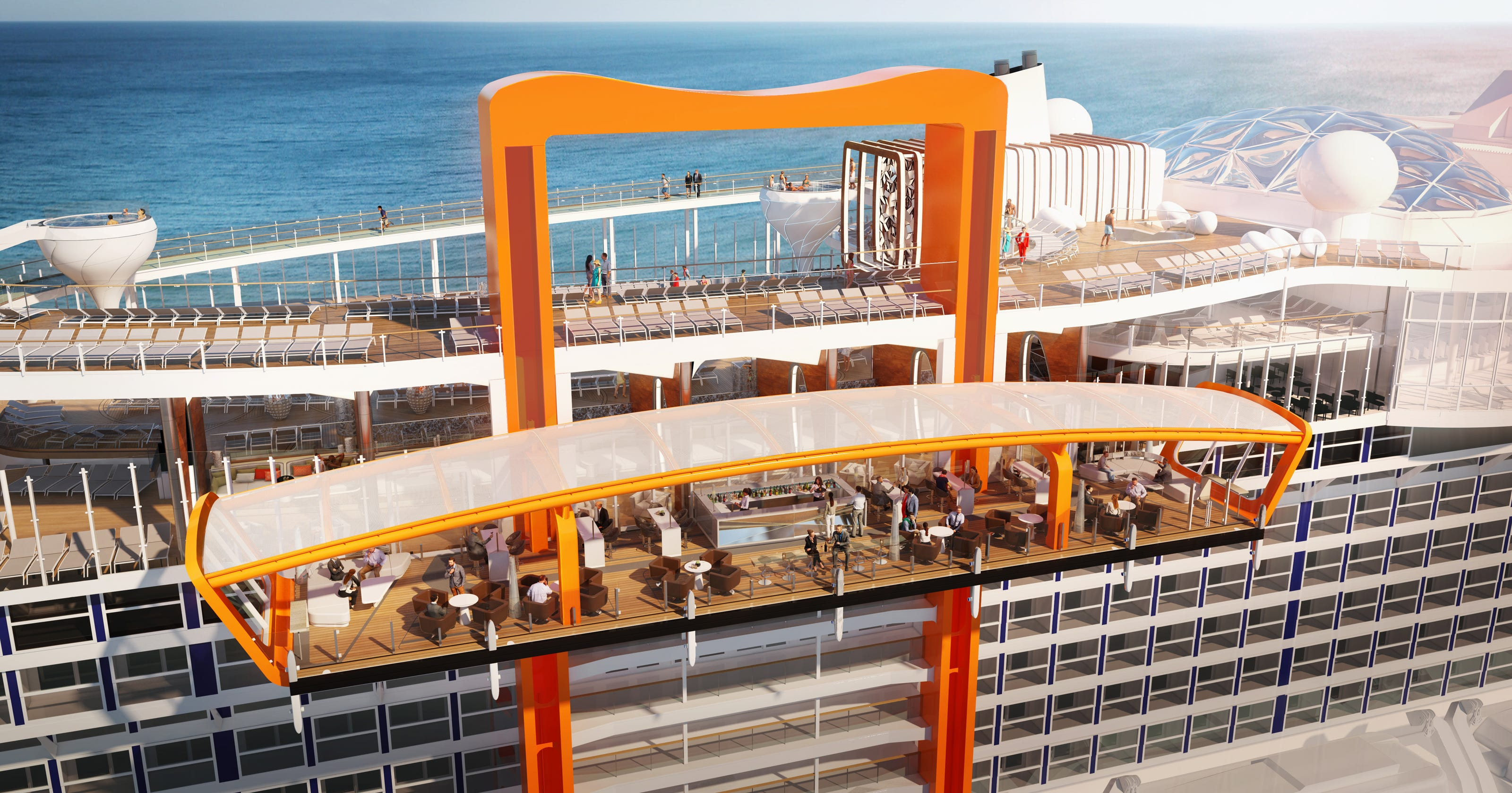 Celebrity Edge: New cruise ship will have 'Magic Carpet