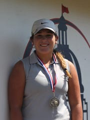 Aucilla Christian sophomore Megan Schofill won Big Bend Championship medalist on Thursday at Capital City Country Club by shooting a 2-under par 70 to win by 10 strokes.