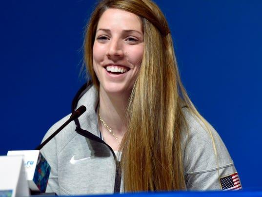 USP Olympics_ Erin Hamlin press conference