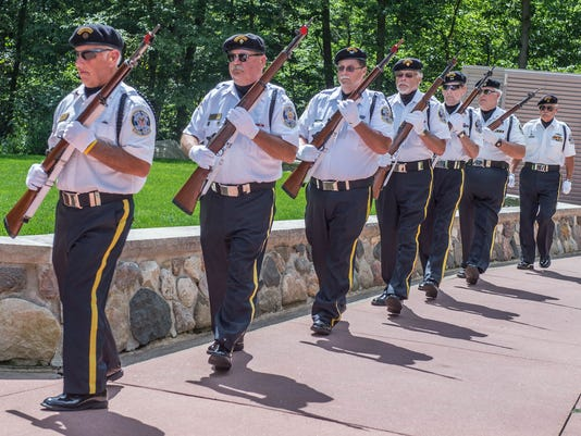 Honor, respect guide Fort Custer honor guard