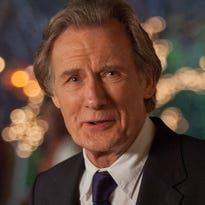"Bill Nighy say the palace-turned-hotel where he stayed during filming put him ""on a balcony, overlooking a lake, surrounded by blue mountains, with exotic birds floating around. It's not a bad way to go to work."""