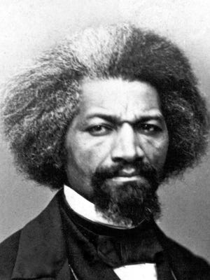 In 1838, Frederick Douglass posed as a free black seaman to escape from slavery. He went on to be a widely respected speaker, author and abolitionist.