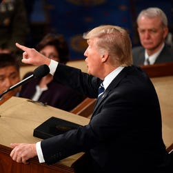 Fact-checking President Trump's first address to Congress