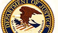 Offical seal of the U.S. Department of Justice.