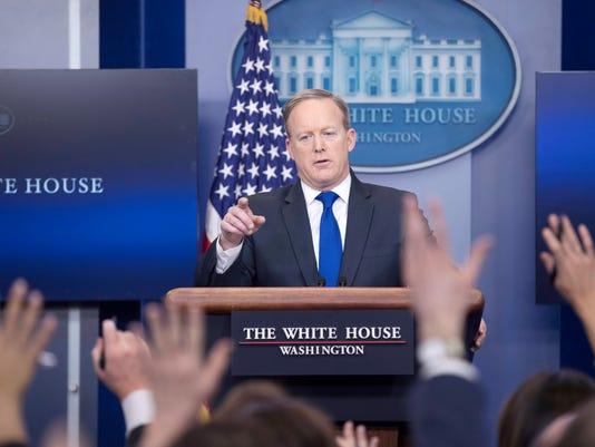 EPA (FILE) USA WHITE HOUSE MEDIA POL GOVERNMENT MEDIA USA DC
