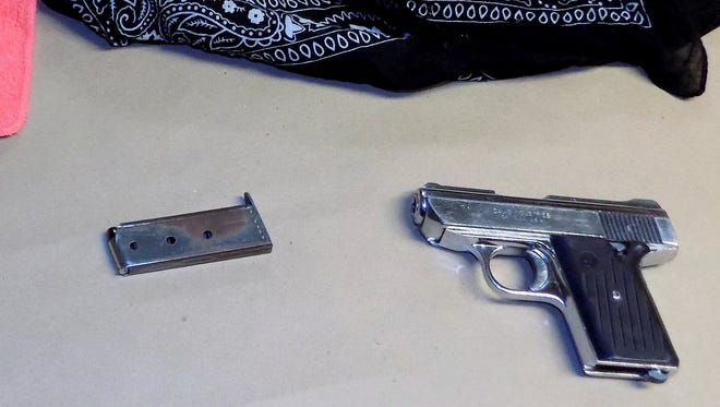Elmira police recovered a loaded handgun from a residence on South Main Street on Sunday following a shooting incident.