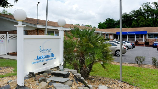 Signature Healthcare of Jacksonville at 2061 Hyde Park Road is coping with coronavirus infections within the facility.