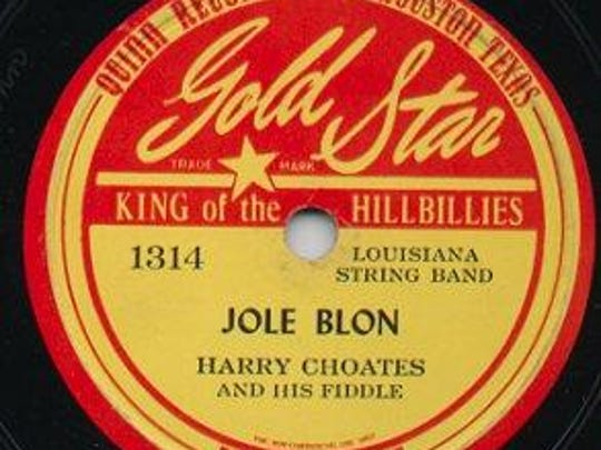 Fiddler Harry Choates created a spirited version of