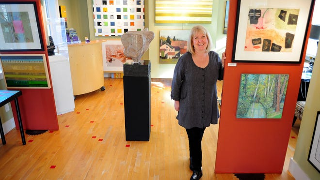 Salem art advocate and community leader Mary Lou Zeek shows the work of 25 artists in her new gallery.
