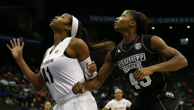 South Carolina and Mississippi State were picked to finish first and second in the SEC.