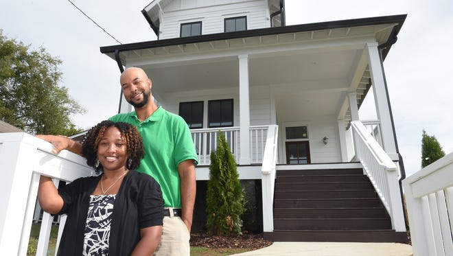 Khira Turner and her husband, Julian Jobe, who own Turner Investments, built this new home in the Buena Vista and Elizabeth Park area. It is on the market for $344,900.