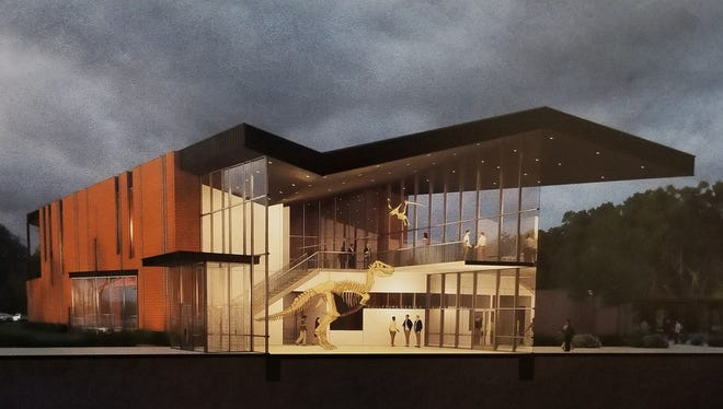 Artist rendering of a new Angelo State University Museum.