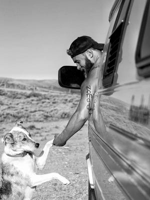 "Boonton native Nate Woodruff, aka ""Whisky Nate,"" sold his belongings earlier this year and set out with his dog, Skye, to travel the United States in a van to pursue his passions for whiskey, photography and hiking. Distillery sponsors are underwriting his journey. Follow his Instagram posts @whiskywithaview. Location: Wyoming desert."