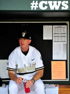 Vanderbilt coach Tim Corbin's squad entered fall ball practice last week after a national title and national runner-up finish over the past two seasons.