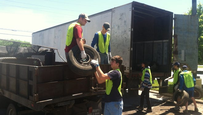 Asheville GreenWorks will hold its annual Tire Amnesty Days Nov. 21 and 22 at Sears, Asheville Mall.