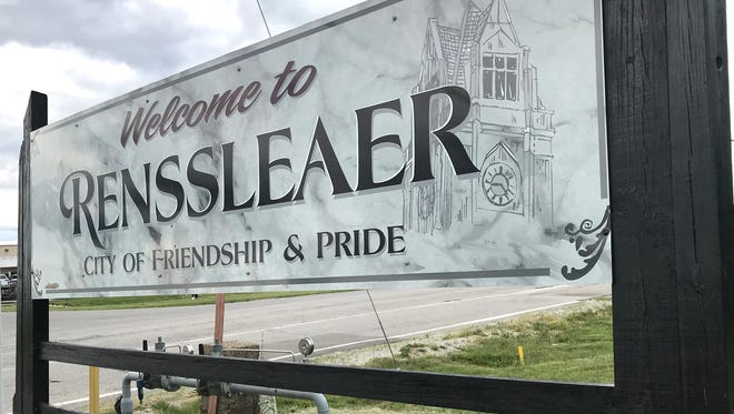 Rensselaer leaders admit their city's name is difficult to spell. This week, it tripped up sign makers, who misspelled Rensselaer on a pair of welcome signs. The signs came down Thursday and will be fixed and reinstalled this weekend.