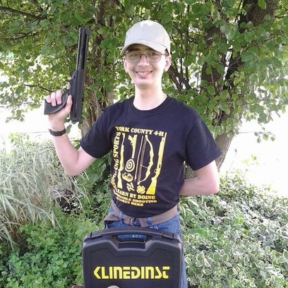 Skyler Klinedinst has become a championship air pistol shooter despite dealing with several learning disabilities.