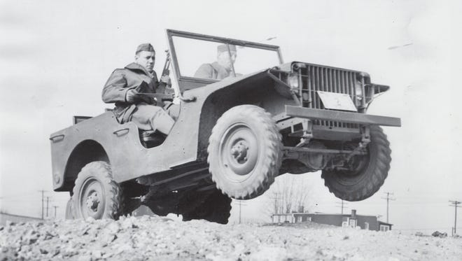 The 1940 Ford Pilot Model GP-No.1 (Pygmy), during initial testing after delivery to the U.S. Army Quartermaster Corps at Camp Holabird in Baltimore, Maryland on Nov. 23, 1940.