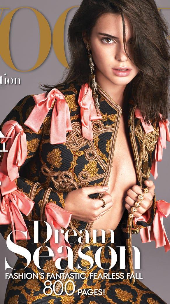 Vogue Usa Magazine Subscription: Kendall Jenner Lands 'Vogue's September Cover