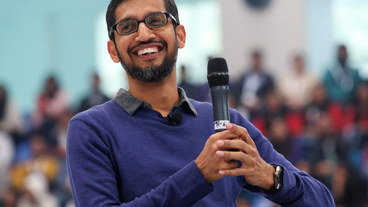 "Google Chief Executive Officer Sundar Pichai has been awarded a stock grant valued at $199 million by parent company Alphabet Inc. Bloomberg's Matt Miller reports on ""Bloomberg GO."""