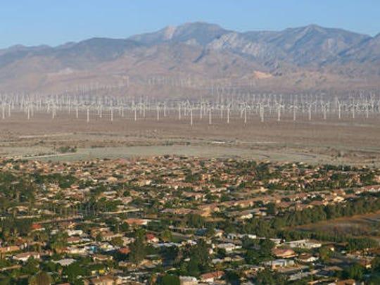 A small earthquake was felt in the Coachella Valley