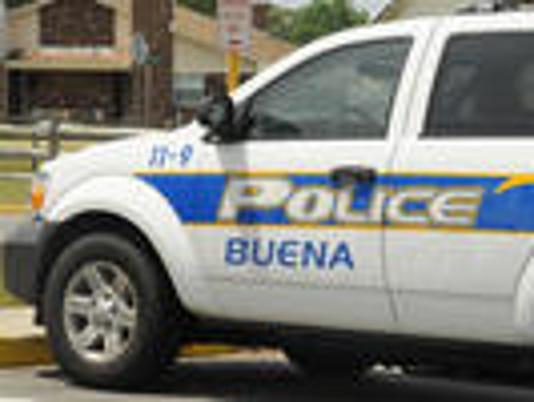 Buena borough police cruiser
