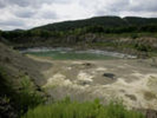 The Suffern Quarry off Main Street in Suffern was obtained by Ramapo for $1 when Tilcon closed down its operation.