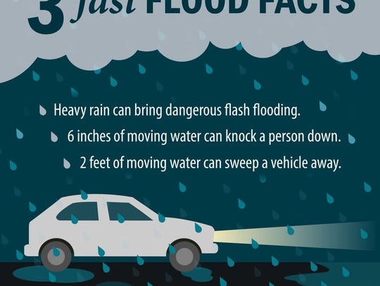 FEMA graphic on flood facts.