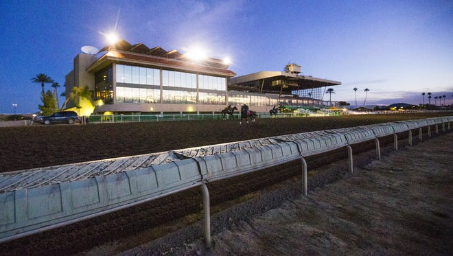 Turf Paradise, the horse racing venue in north Phoenix, just celebrated its' 60th birthday.