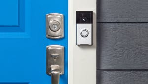 "Ring's ""smart"" doorbell contains an HD camera, microphone, speaker and motion sensor."