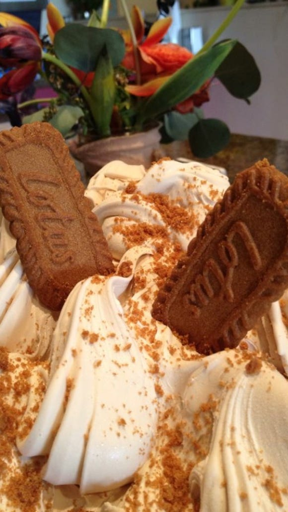 The Biscoff gelato is one of many regular offerings