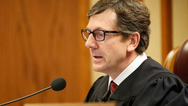 Fond du Lac County Circuit Court Judge Peter Grimm issued an emergency order Thursday on behalf of all the circuit court judges in the county that outlines how the court will operate in light of the coronavirus outbreak. Unlike several other counties' circuit courts in the state, jury trials could continue.