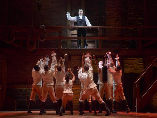 "The smash hit ""Hamilton"" opens at the Fisher Theatre"
