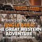 Take a 360-degree ride through the Eiteljorg's Jingle Rails