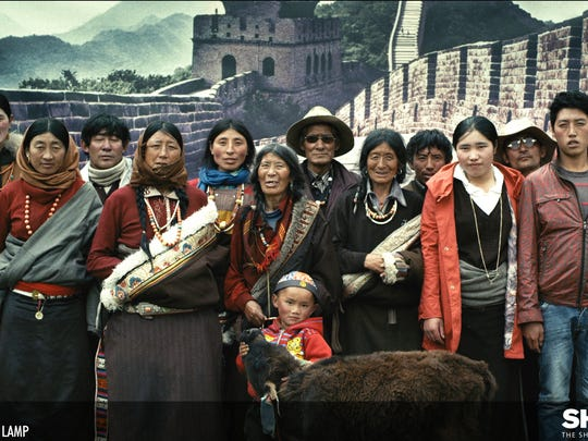 """""""Butter Lamp,"""" a short film about a young photographer and his assistant who offer to take pictures of Tibetan nomads in front of a variety of backgrounds, is showing as part of the live-action Oscar-nominated shorts at Salem Cinema."""