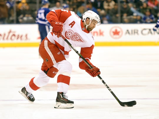 Defenseman Niklas Kronwall will be 38 this season and is not under contract for next year.
