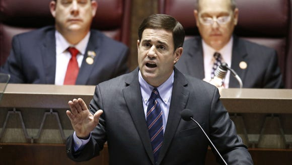 Ducey had some significant accomplishments in stabilizing