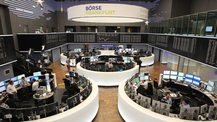 This file photo taken on Dec. 30, 2016 shows traders