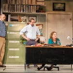 """Gregory Maupin, Todd Lawson and Wendy Rich Stetson in Actors Theatre of Louisville's production of """"Luna Gale"""" by Rebecca Gilman."""