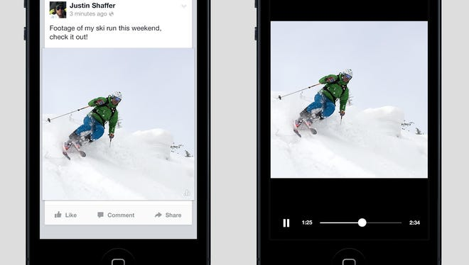 Facebook tests new video feature