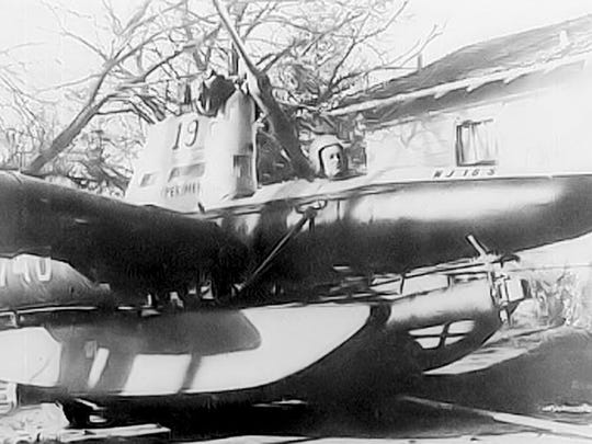 Donald Reid's flying submarine.