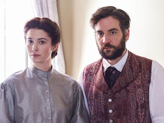 """Mary Elizabeth Winstead and Josh Radnor star in """"Mercy Street."""" The new PBS series, set in a Civil War military hospital, can be caught on Amazon Prime."""