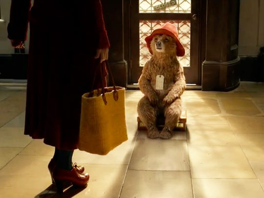 """Paddington"" has a Pixar-like combination of kinetic animation and clever writing."