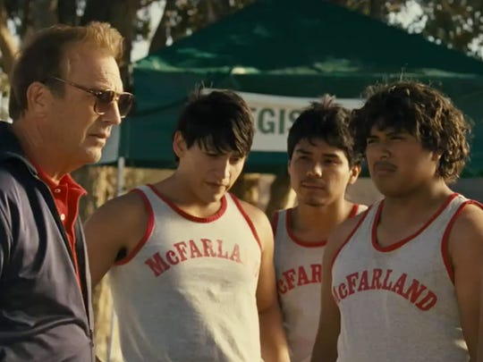 Kevin Costner is a cross-country coach in a small California town who transforms a team of athletes into championship contenders in McFarland USA.