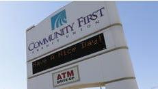 Community First Credit Union's headquarters is at 2626 S. Oneida St., Menasha.