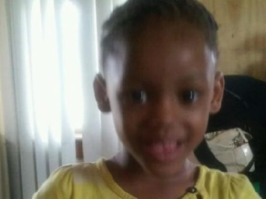 Makiah Jackson, one of two children killed during a crash Wednesday that followed a police pursuit.