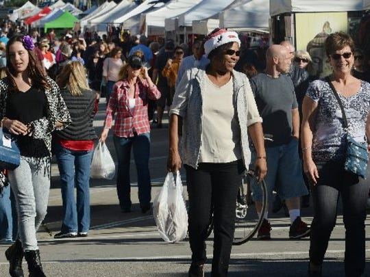Ventura's Street Fair happens Saturday.